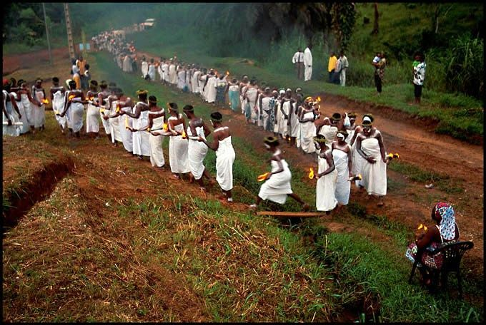 Bwiti the journey procession
